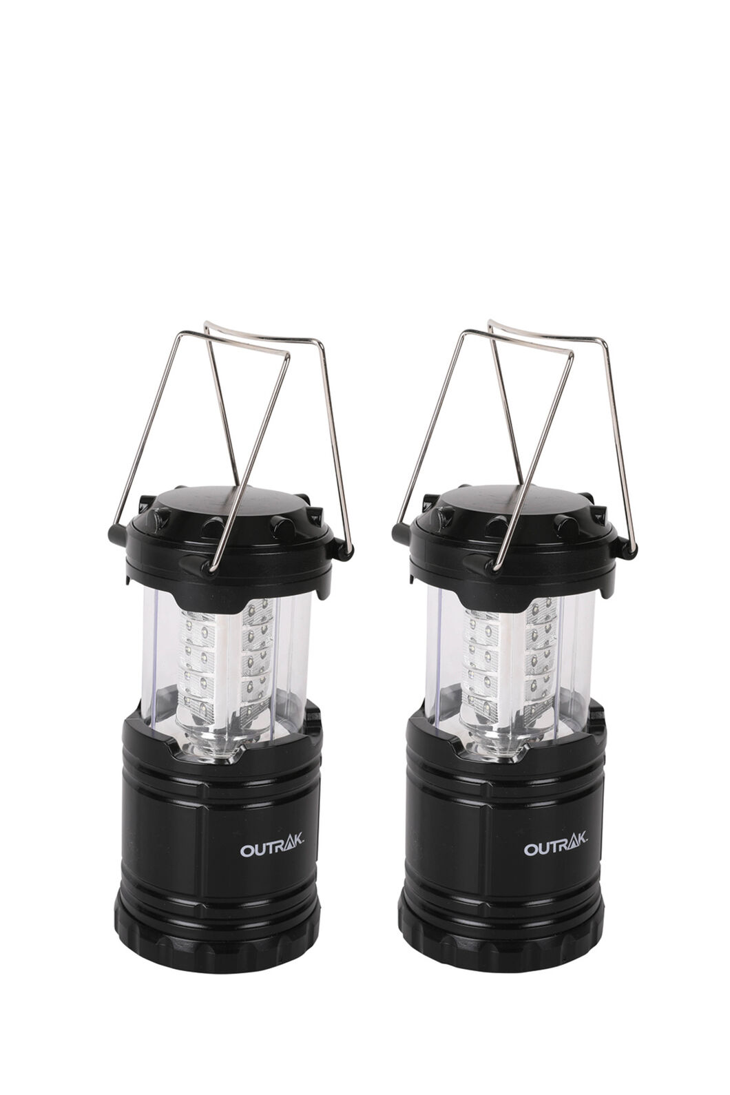 Outrak Collapsible Twin Pack Lantern, None, hi-res