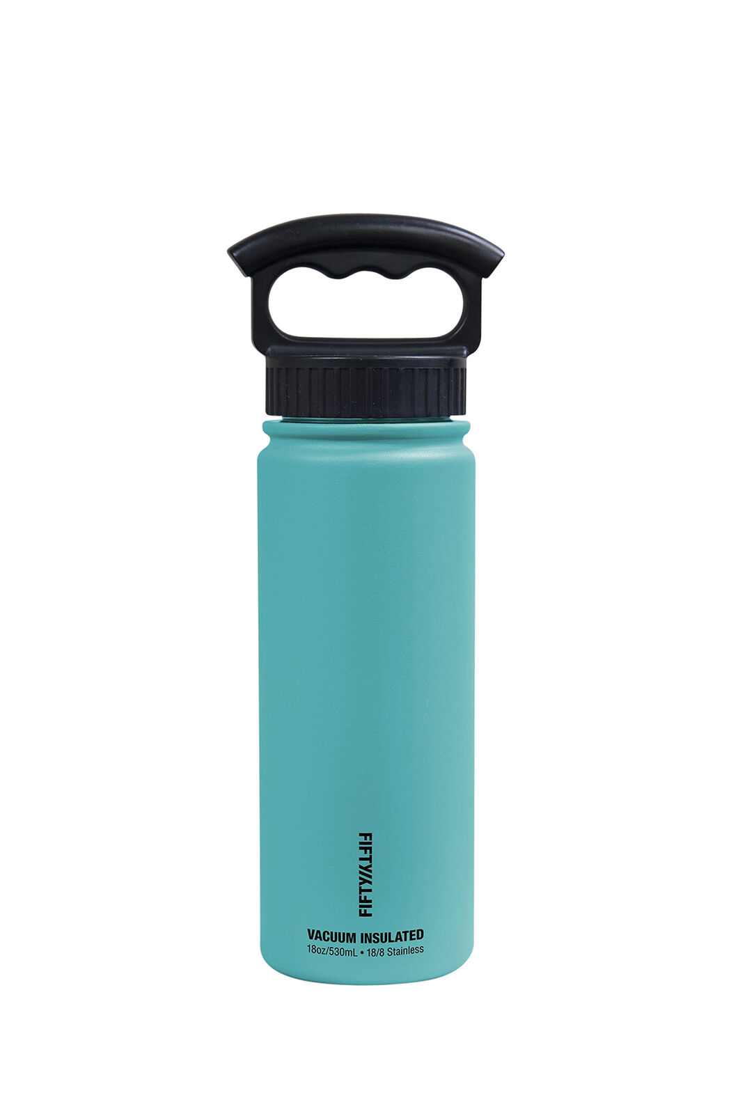 FIFTY/FIFTY® 18oz Insulated Bottle, Aqua, hi-res