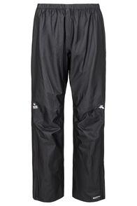 Macpac Nazomi Pertex® Rain Pants — Men's, Black, hi-res