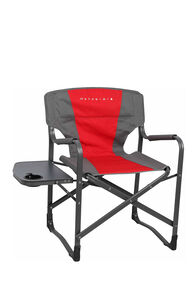 Wanderer Directors Chair with Side Table, Red, hi-res