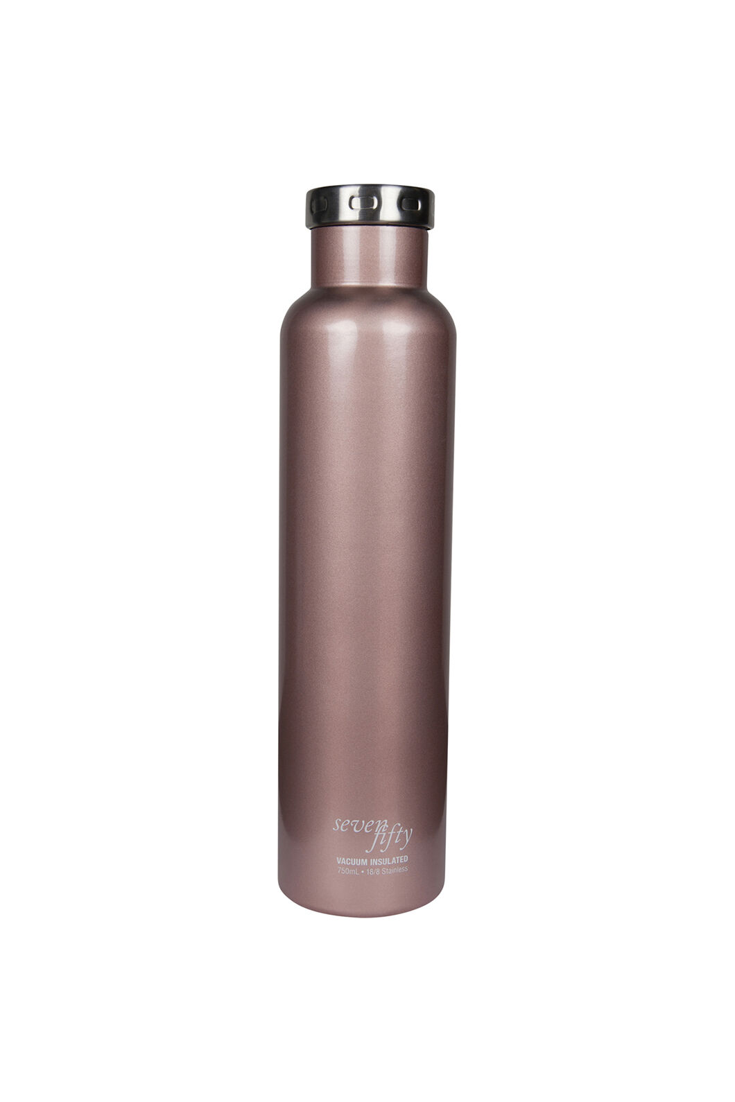 SEVEN/FIFTY 750mL Wine Growler, Rose Gold, hi-res