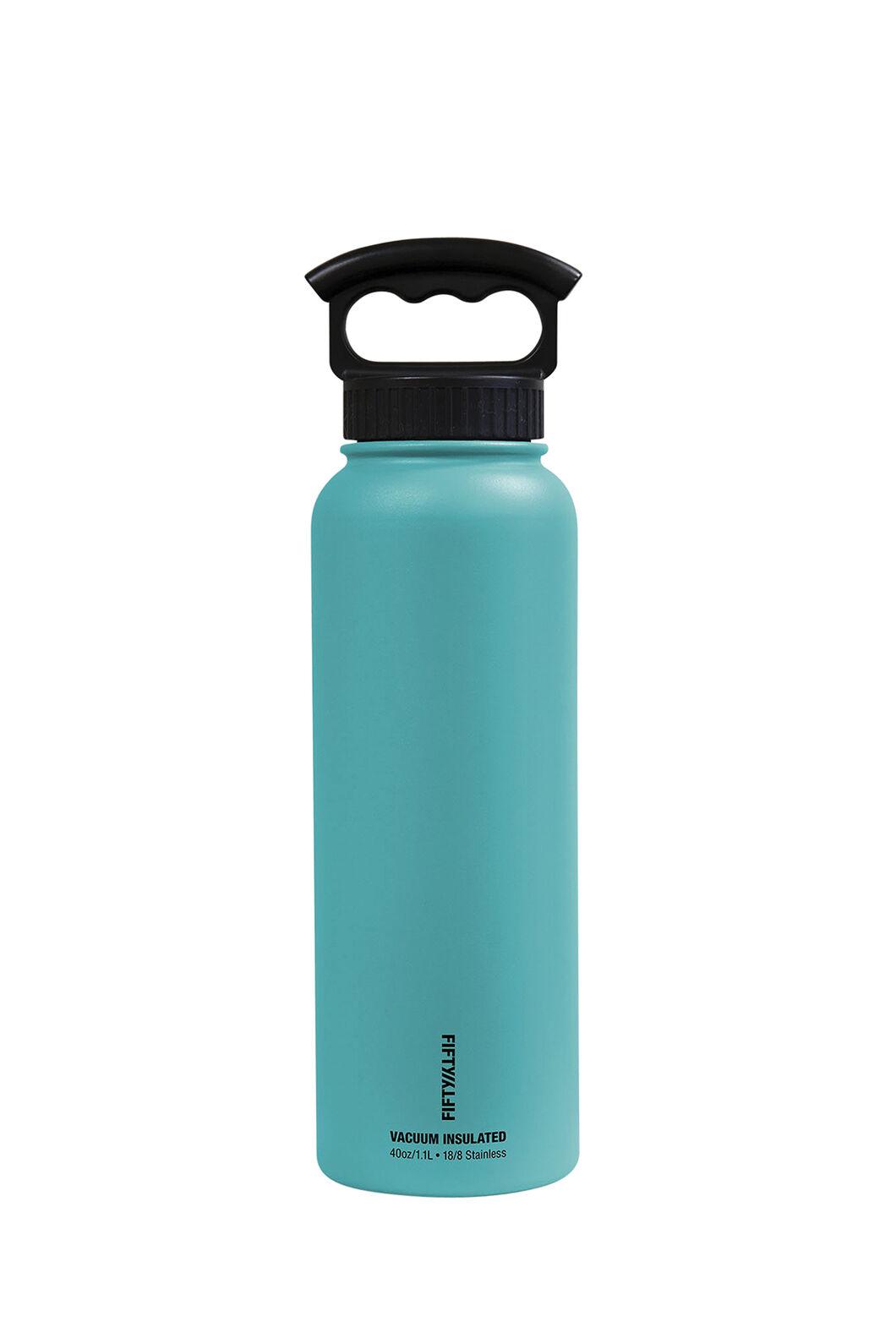 FIFTY/FIFTY® Insulated Bottle — 40 oz./1L, Aqua, hi-res