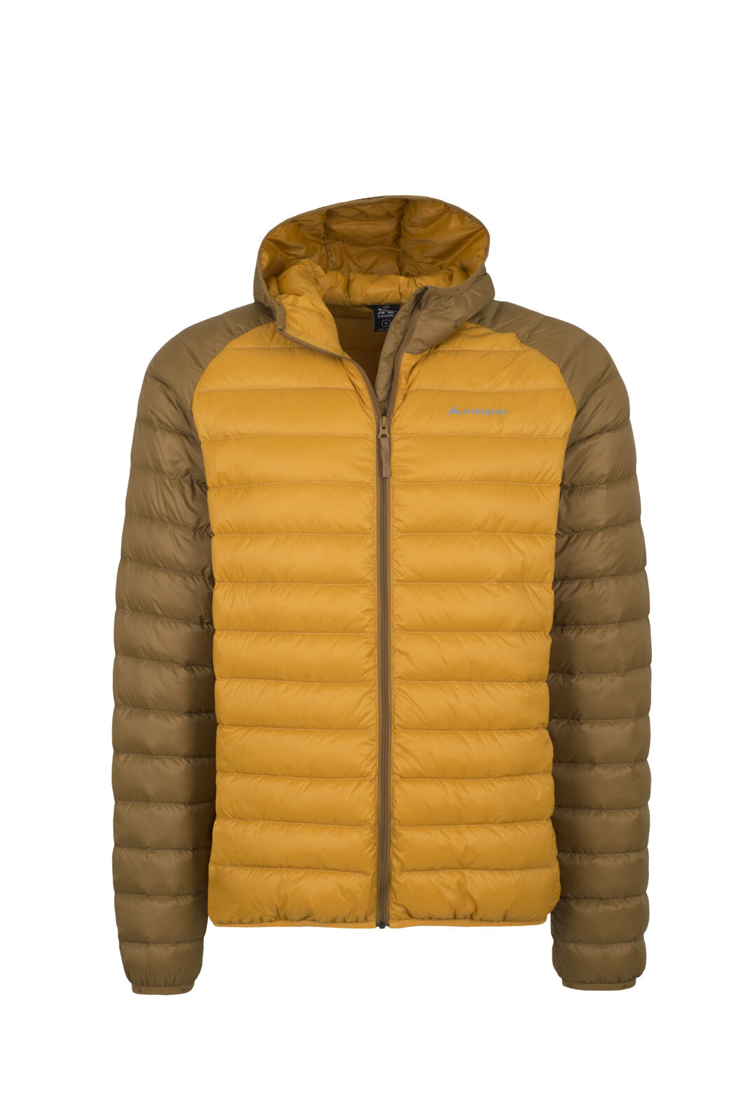 Macpac Uber Hooded Down Jacket - Men's, Bronze Brown, hi-res