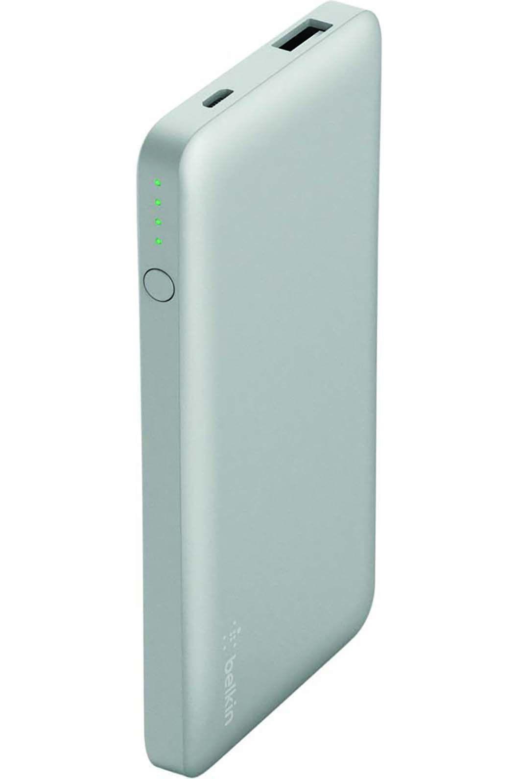 Belkin Pocket Power 5K Power Bank, Silver, hi-res