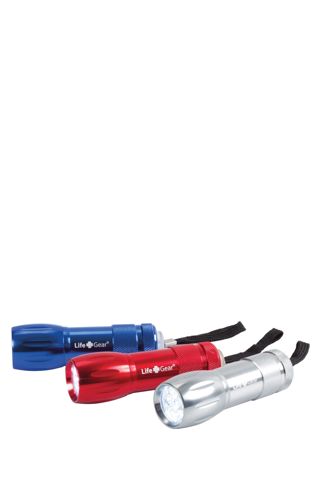 Life Gear 9 LED Aluminium Torch, None, hi-res