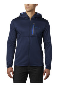 Columbia Men's Tech Trail™ Full Zip Hooded Jacket, COLLEGIATE NAVY, hi-res