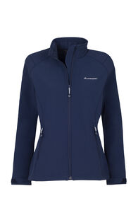 Macpac Sabre Softshell Jacket — Women's, Black Iris, hi-res