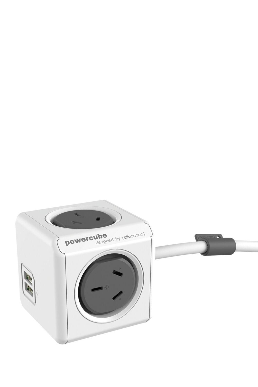 Funtastic Powercube Extended 1m USB, Grey, hi-res