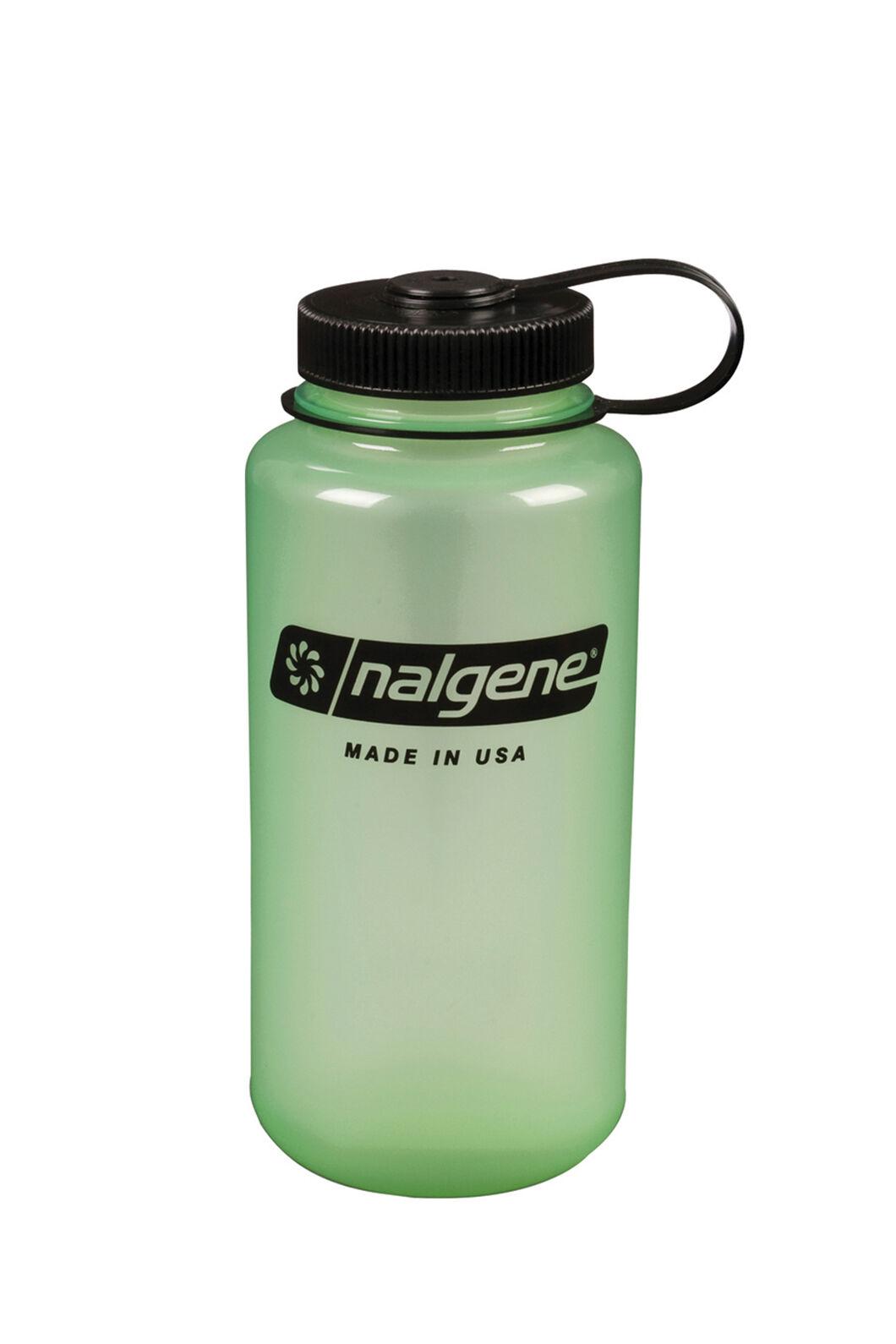Nalgene Wide Mouth Glow in the Dark Drink Bottle 1L, None, hi-res