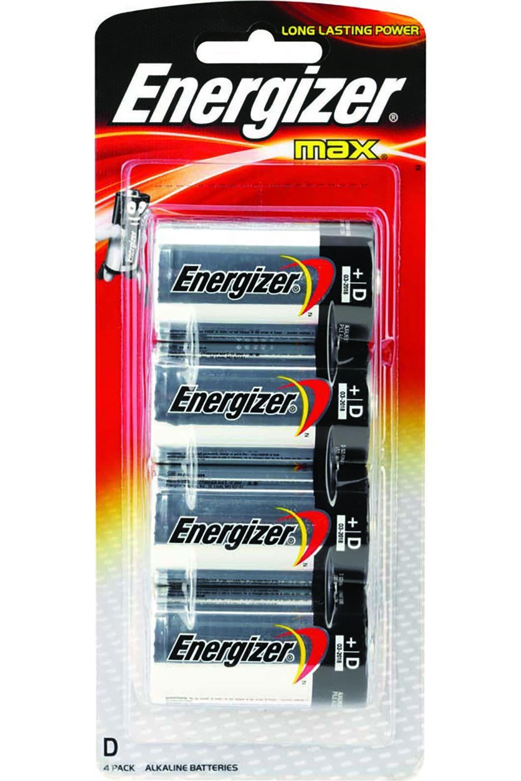 Energizer Max D Batteries, None, hi-res