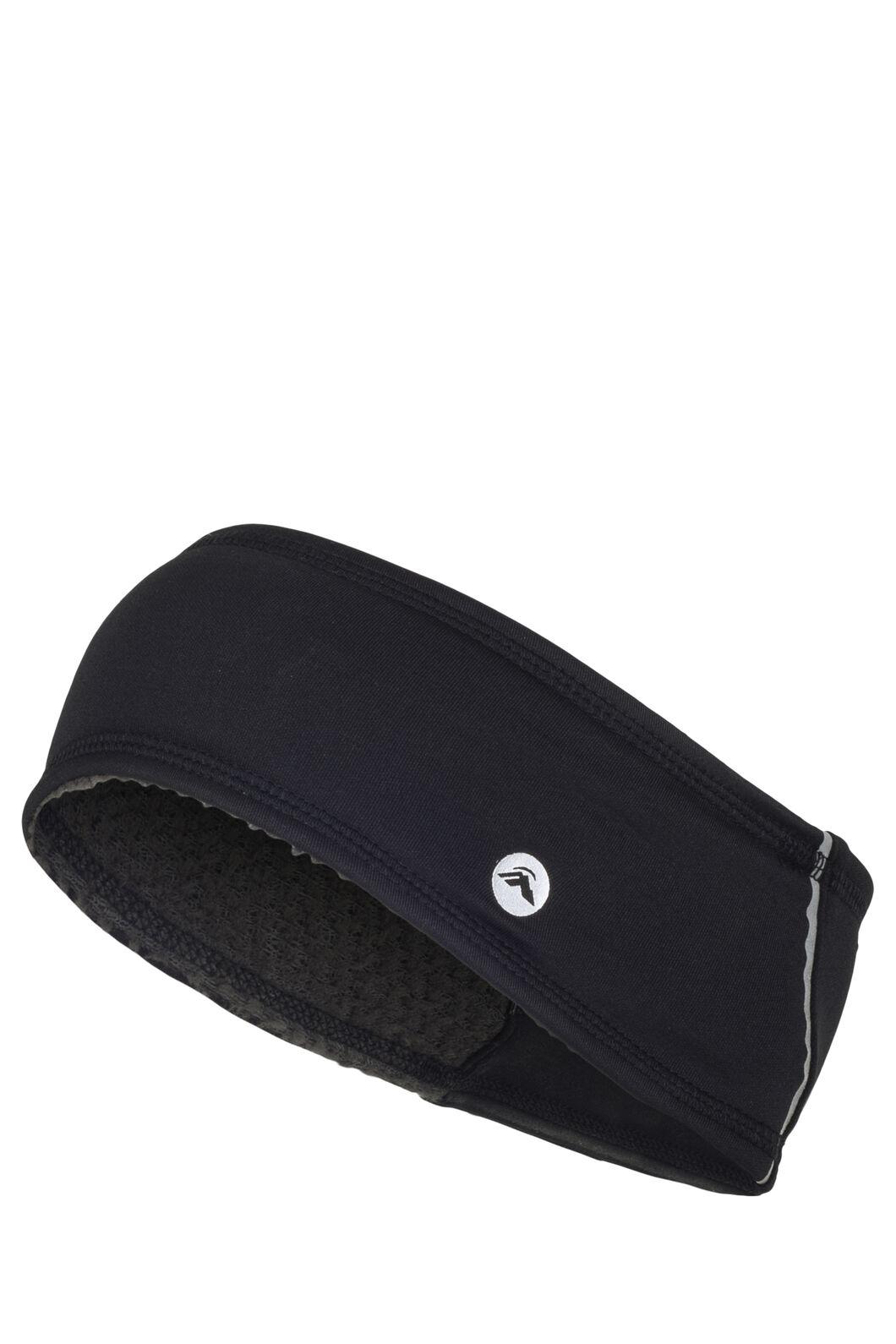 Macpac Alpha Headband, Black, hi-res