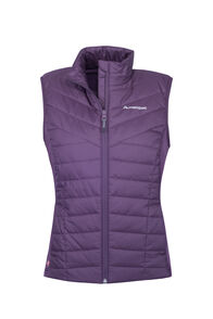 Macpac Strider Hybrid PrimaLoft® Vest — Women's, Blackberry Wine, hi-res