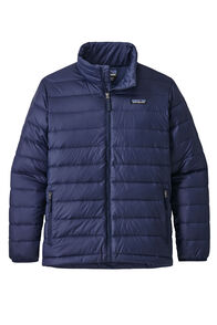 Patagonia Boys Down Sweater, Classic Navy, hi-res