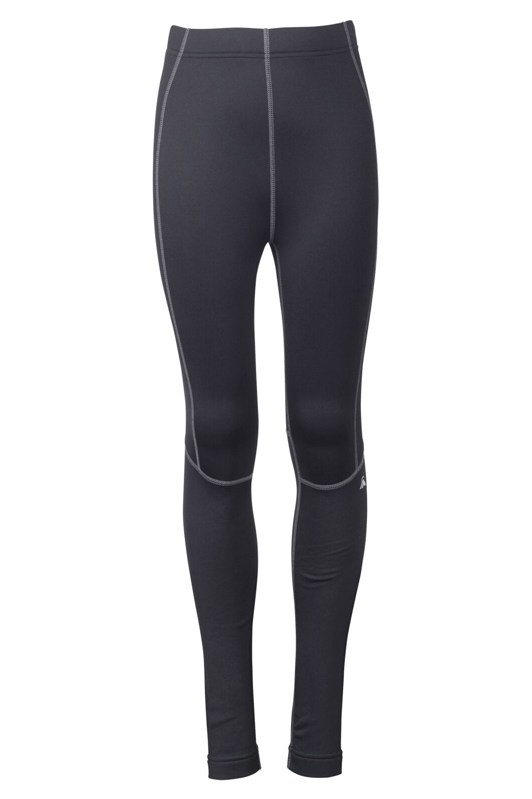 Traverse Fleece Tights - Kids', Black, hi-res