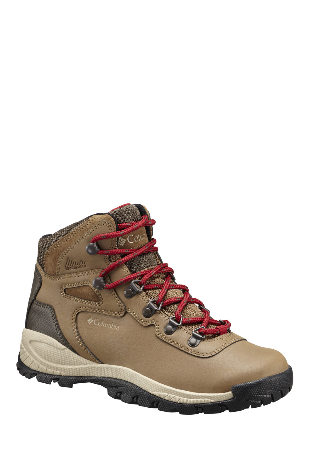 Columbia Women's Newton Ridge Plus Hiking Boot, Red, hi-res