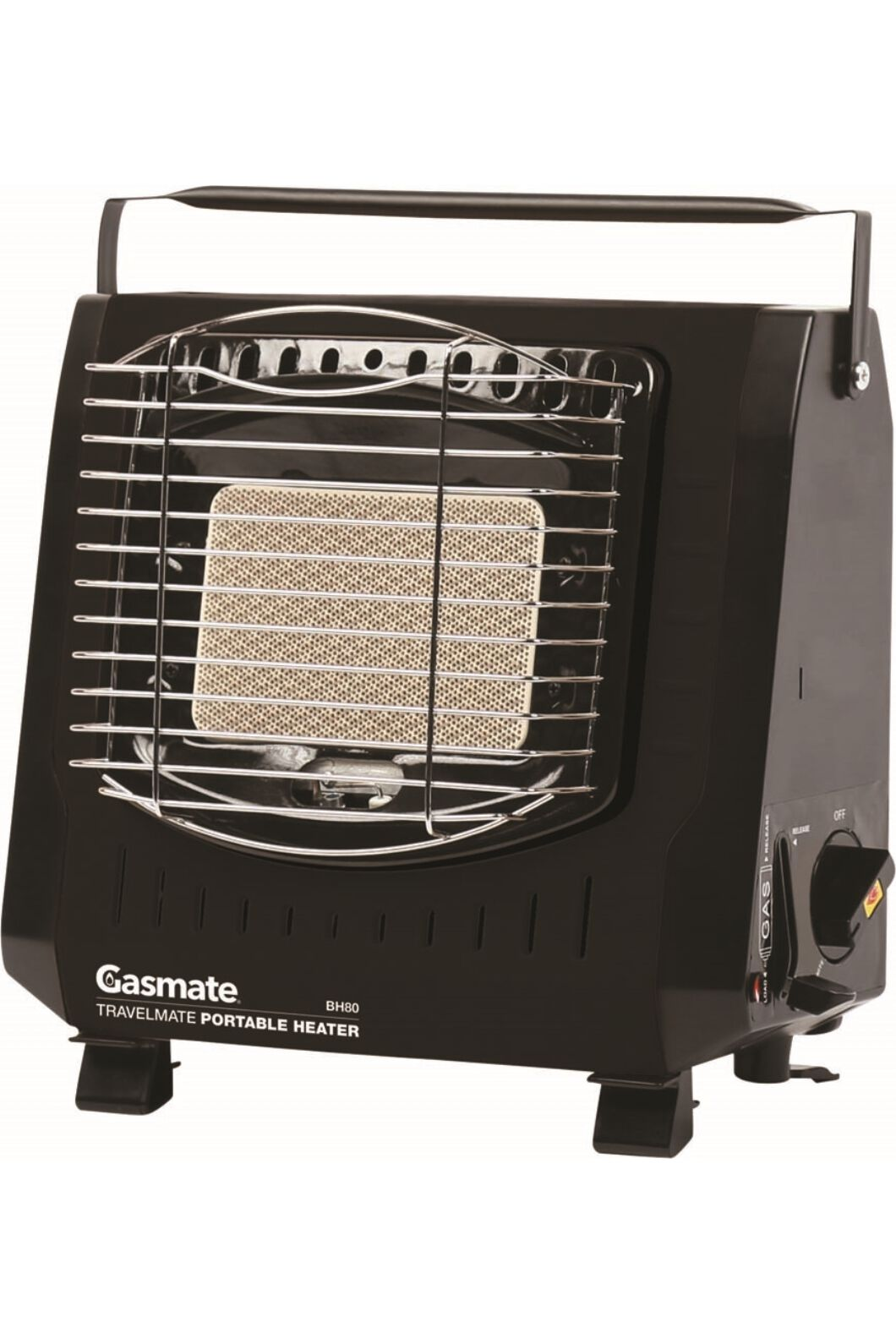 Gasmate Travelmate Butane Heater, None, hi-res