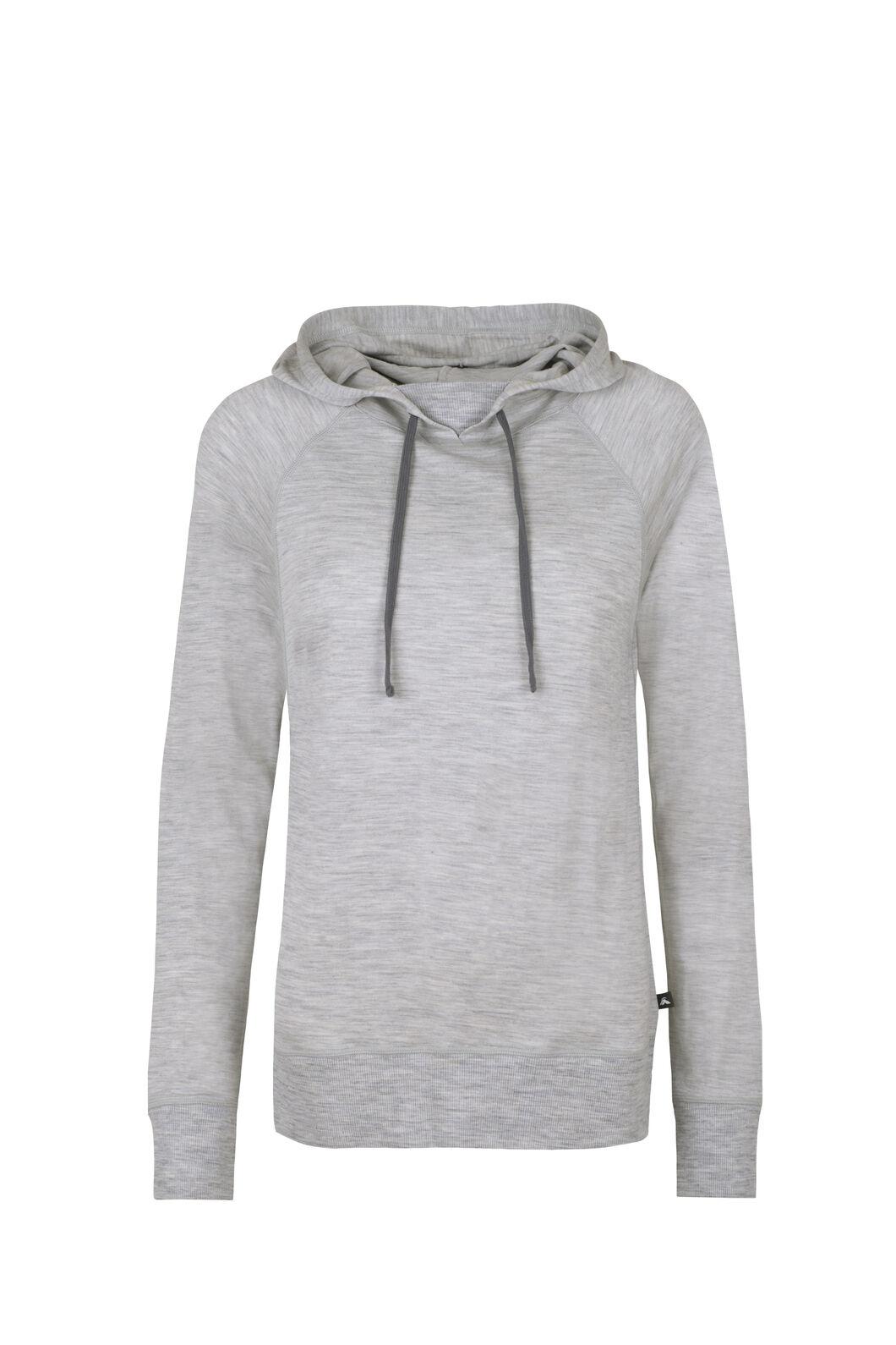 Macpac Skyline Pullover Hoody - Women's, Light Grey Marle, hi-res