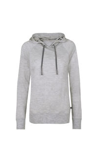 Macpac Skyline Pullover Hoody - Women's, Light Grey Marle, hi-res