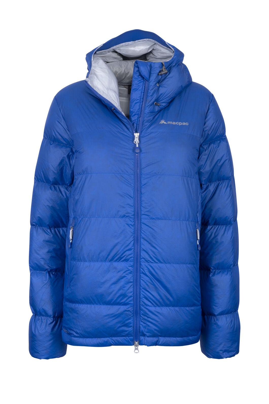 Macpac Women's NZAT Arrowsmith HyperDRY™ Hooded Down Jacket, Nautical Blue, hi-res