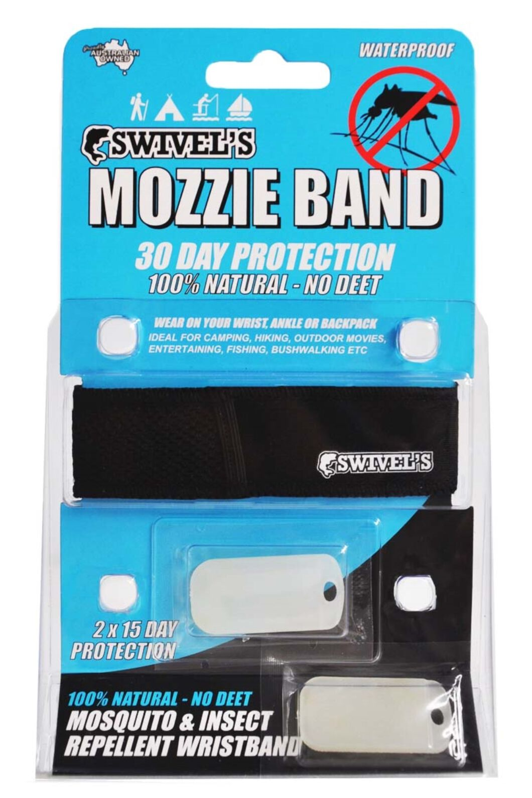 Swivels Original Mozzie Band, None, hi-res