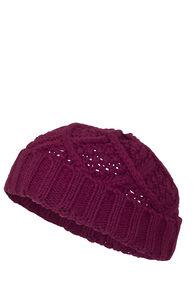 Macpac Mini Knit Beanie - Kids', Anemone, hi-res