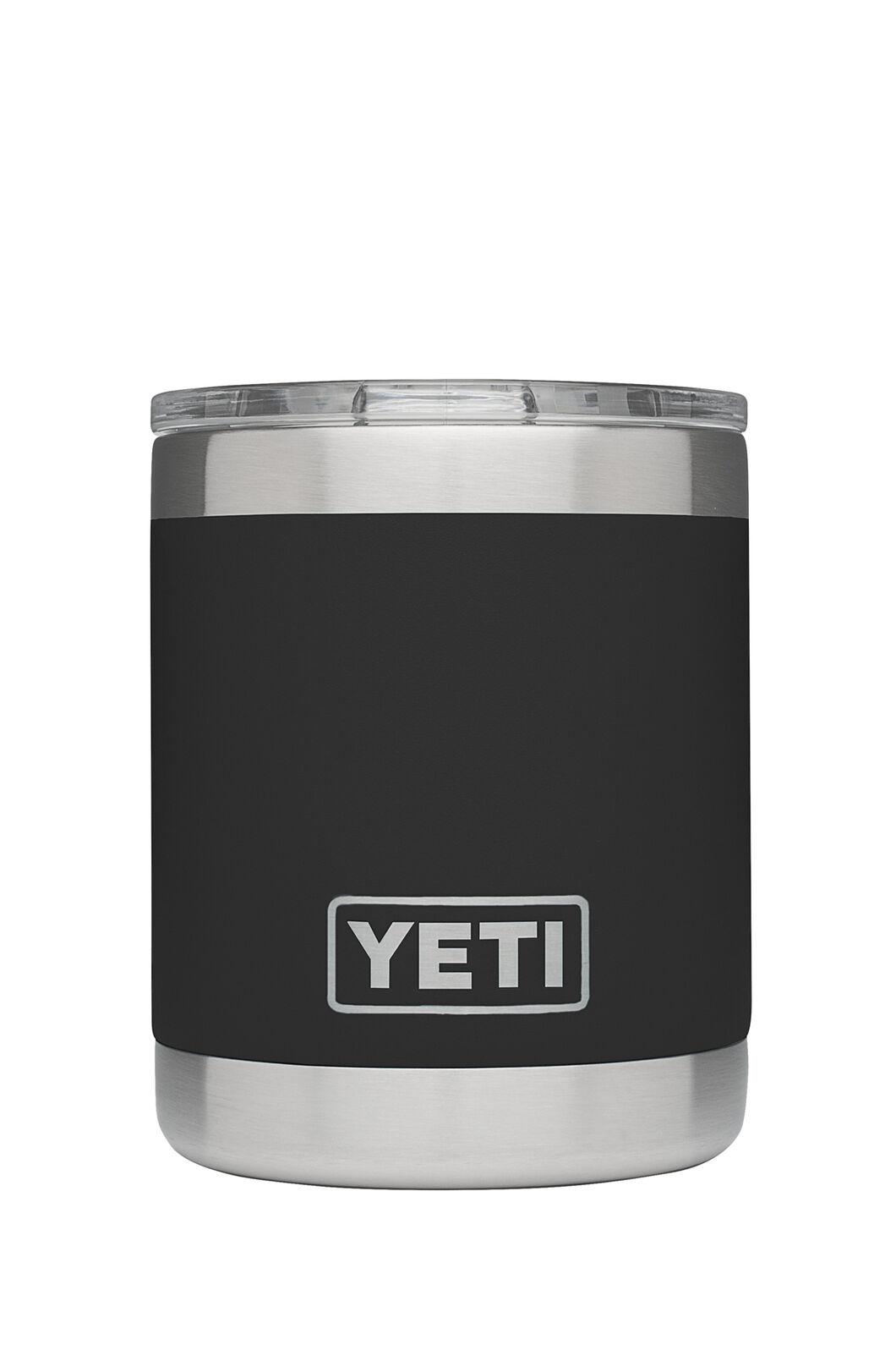 YETI® Rambler 10 oz Lowball Tumbler — 295 ml, Black, hi-res