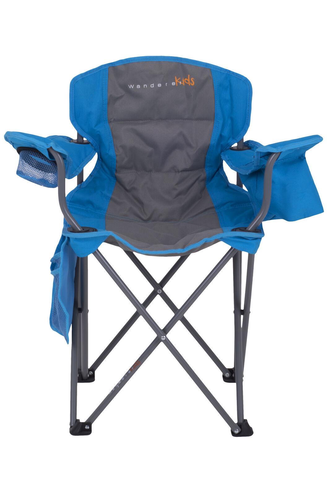 Wanderer Kids' Cooler Arm Chair, Blue, hi-res