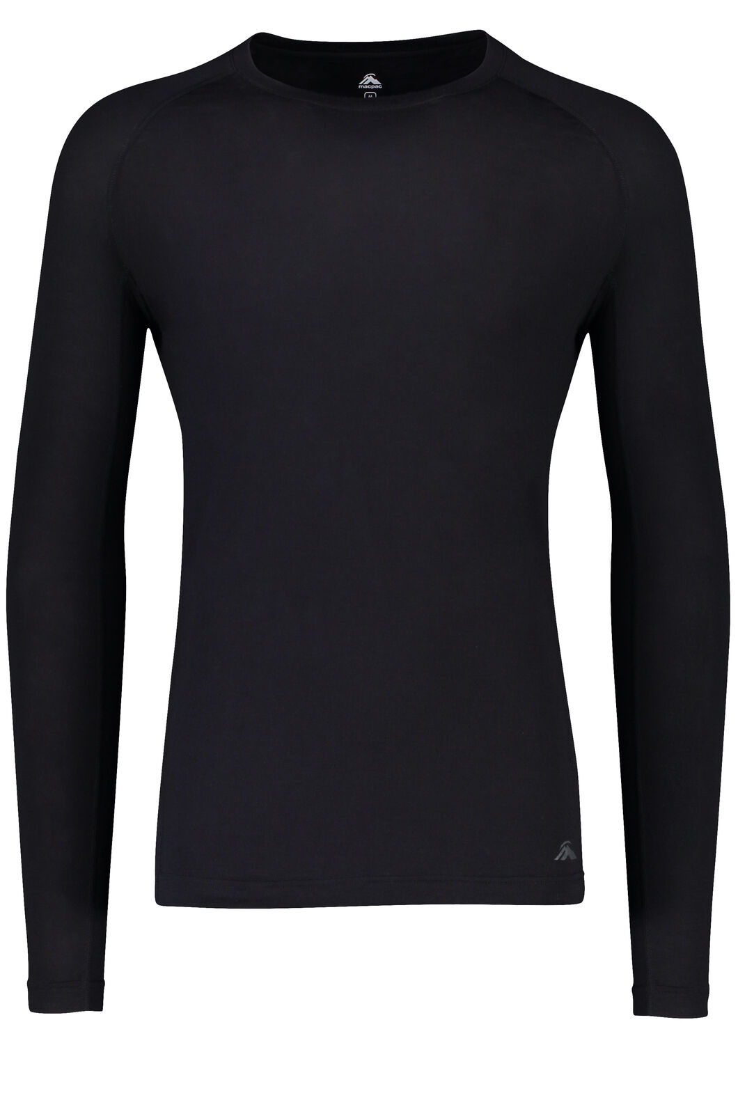 150 Merino Long Sleeve Top - Men's, Black, hi-res