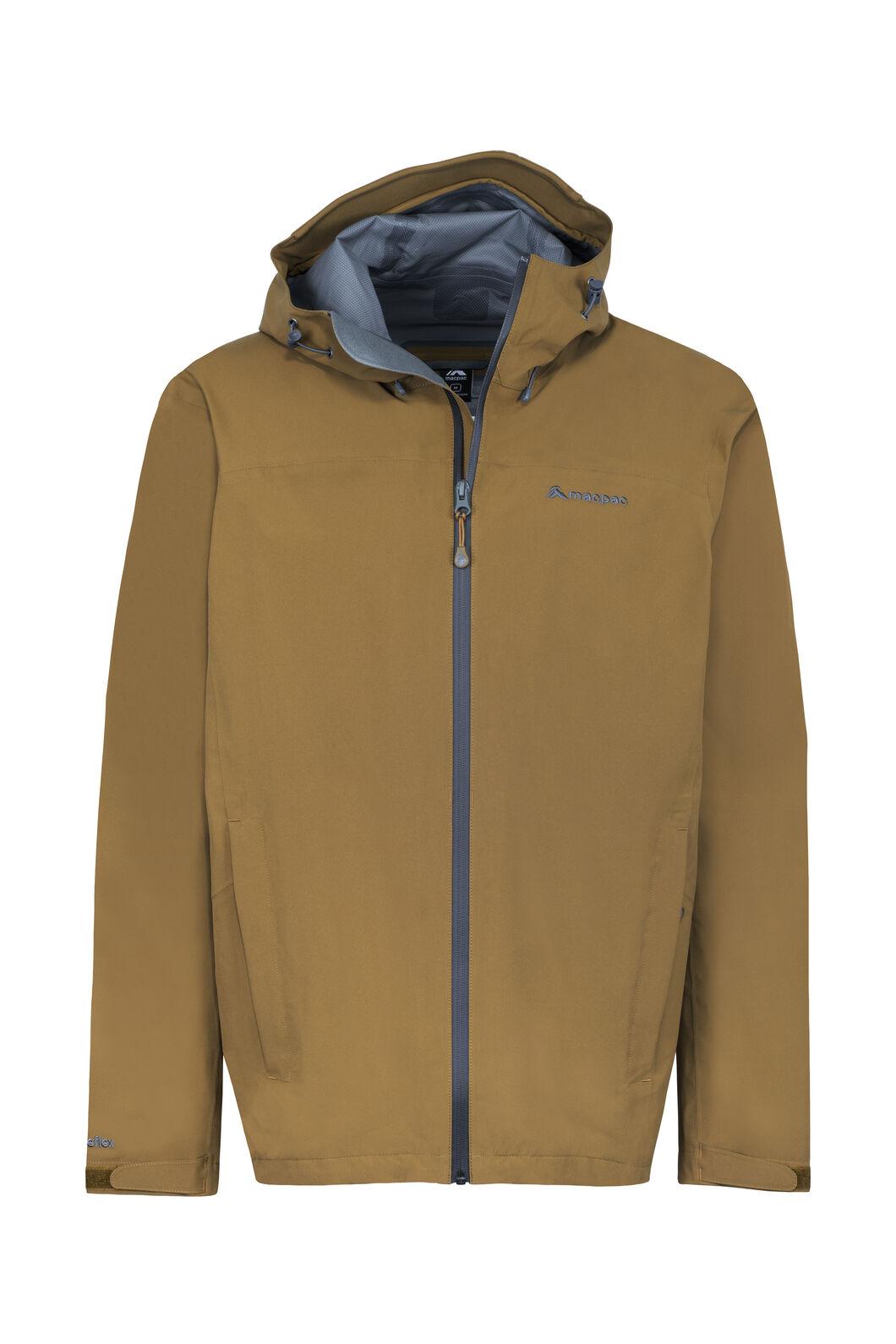 Macpac Dispatch Rain Jacket — Men's, Breen, hi-res