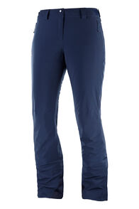 Salomon Women's Icemania Ski Pants, Night Sky, hi-res