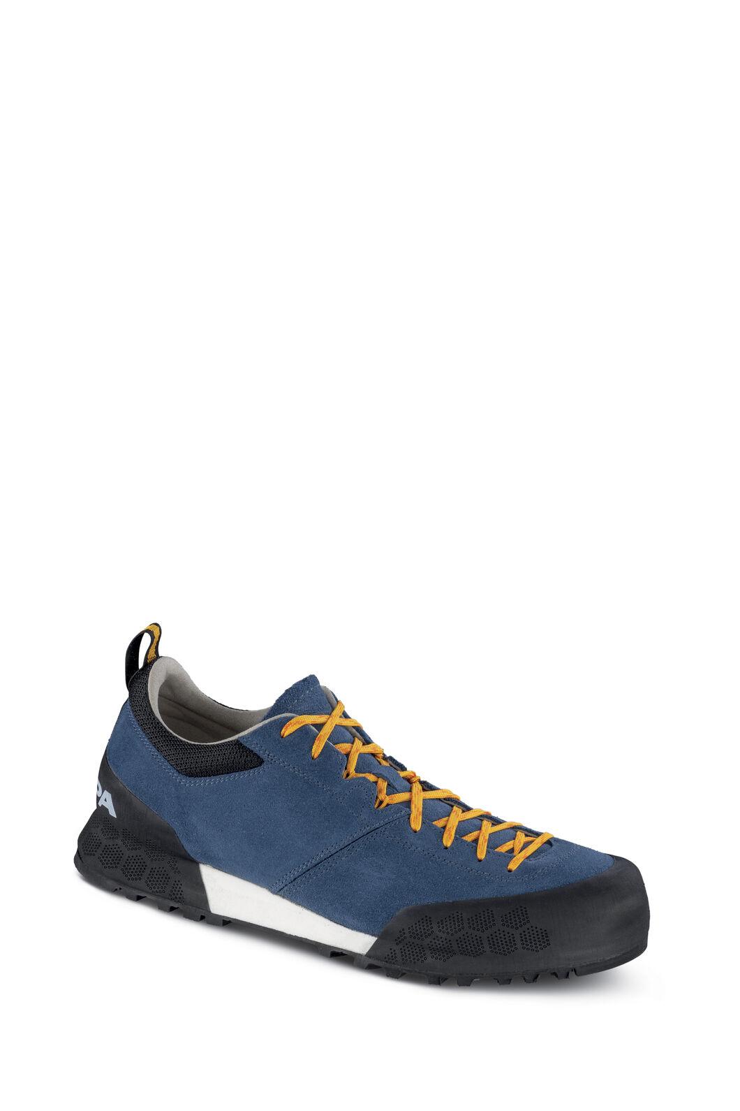Scarpa Kalipe Approach Low Shoes — Men's, Ocean/Citrus, hi-res