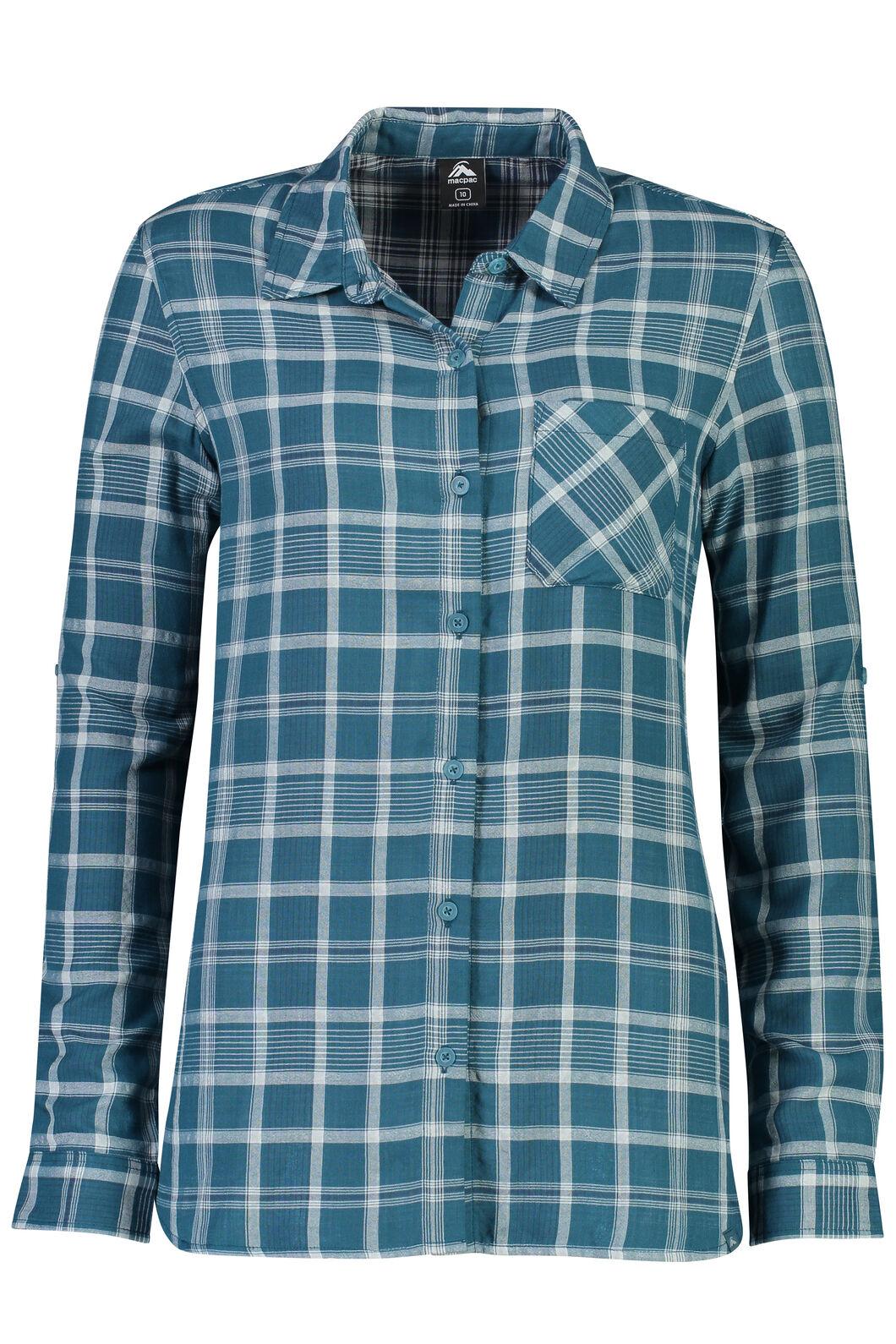Macpac Olivine Shirt - Women's, Blue Coral, hi-res