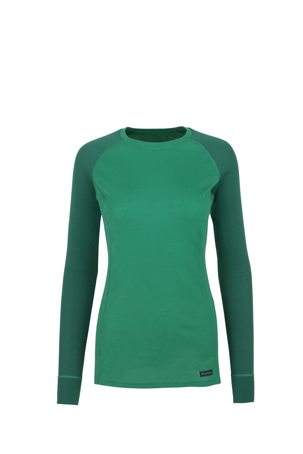 Macpac Geothermal Long Sleeve Top — Women's, Storm/Parasailing, hi-res