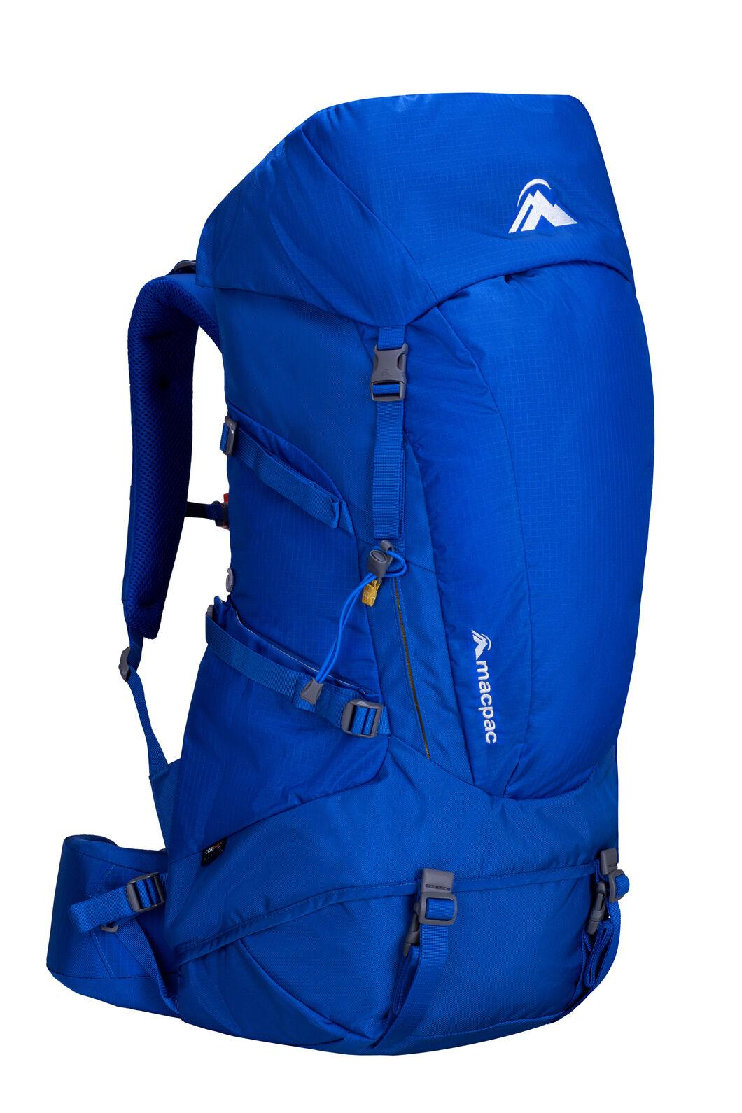 Macpac Torlesse 50L Hiking Backpack, Nautical Blue, hi-res