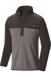 Columbia Men's Mountain Side Fleece Pullover, Night, hi-res