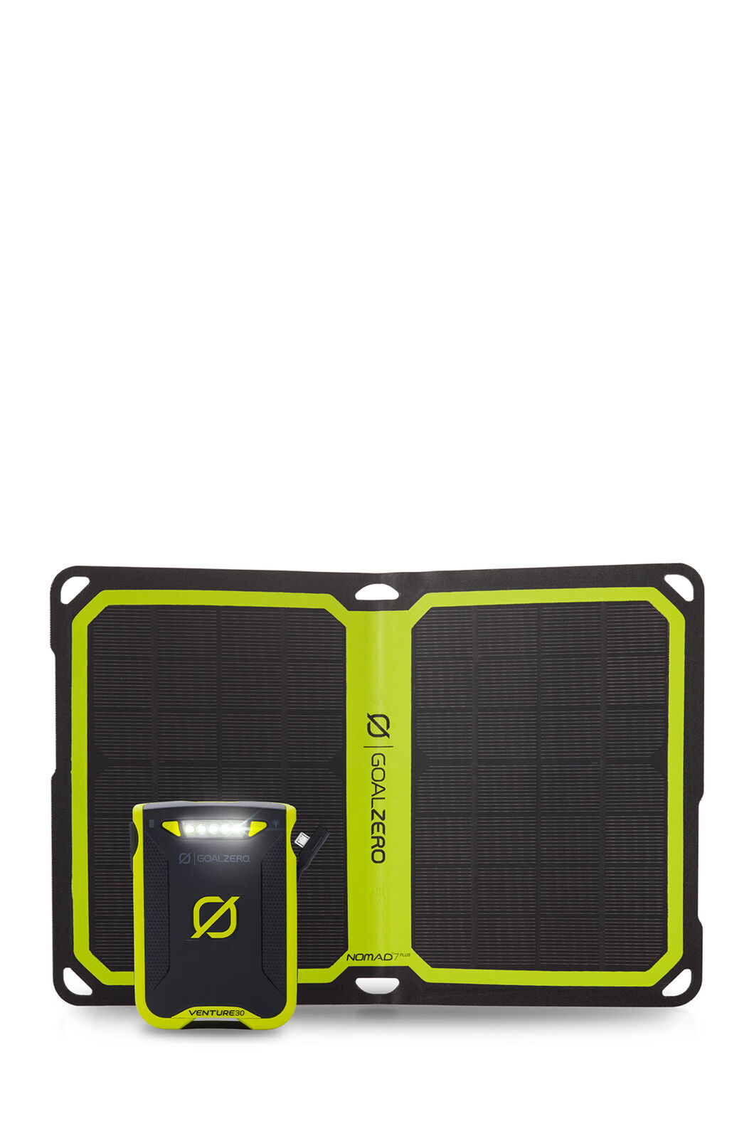 Goal Zero Venture 30 Plus Nomad 7 Solar Kit, None, hi-res