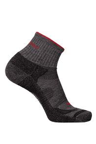 Macpac Merino Quarter Socks, Forged Iron Melange, hi-res