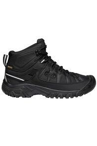 KEEN Men's Targhee EXP Mid WP Hiking Boots, Black/Black, hi-res