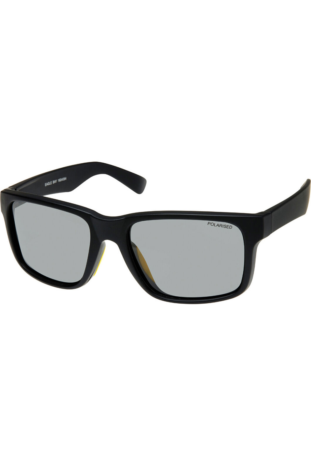 Cancer Council Men's Eagle Bay Sunglasses, Black Yellow, hi-res