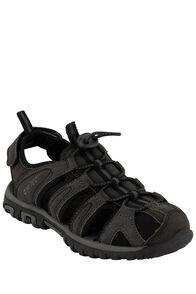 Hi-Tec Cove Junior Sandals — Kids', Black/Charcoal, hi-res