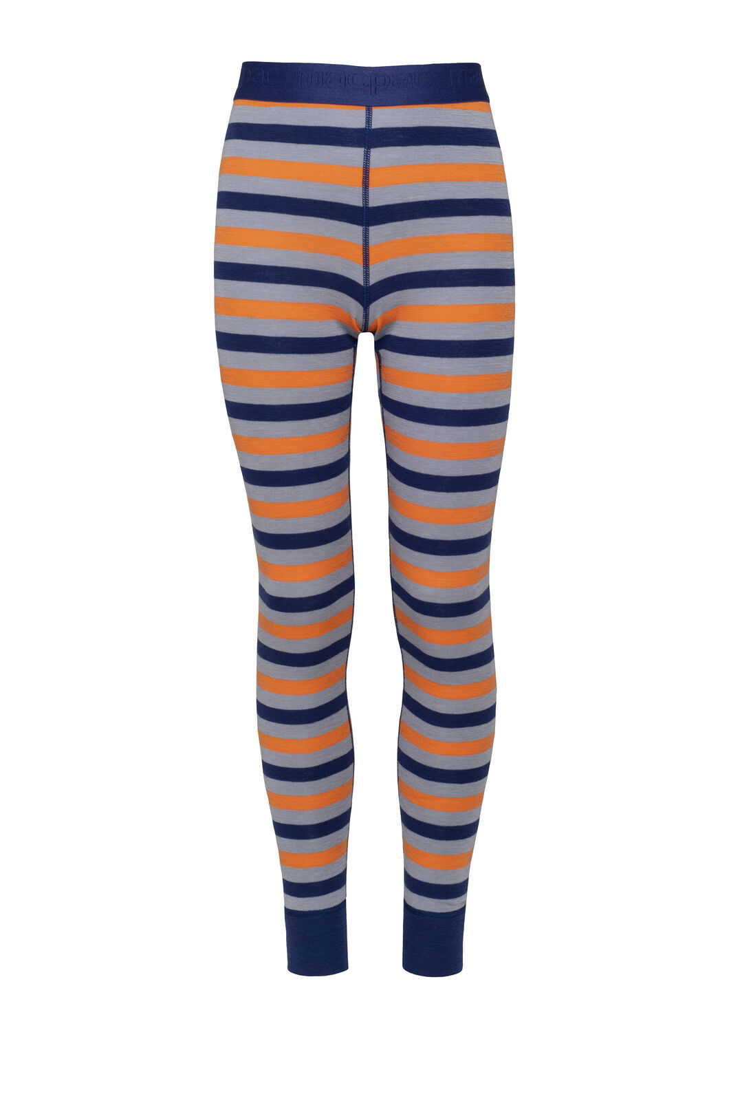 Macpac 220 Merino Long Johns — Kids', Blueprint Stripe, hi-res
