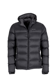 Macpac Halo Hooded Down Jacket — Men's, Black, hi-res