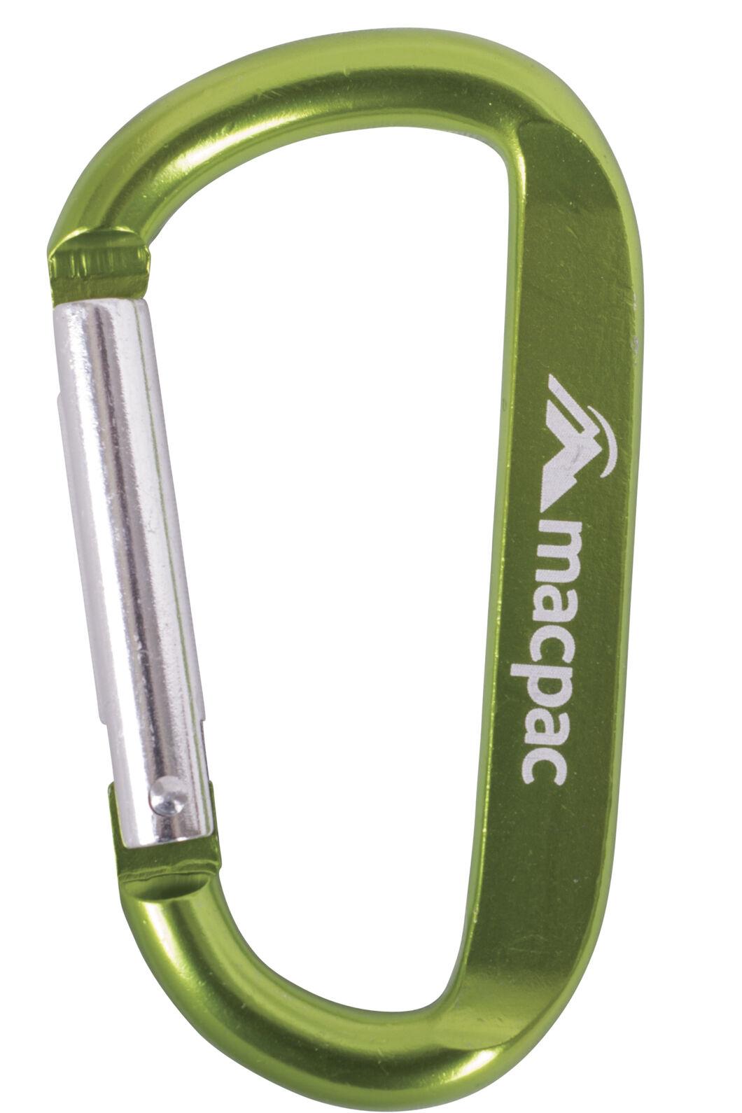 Macpac Carabiner, Green, hi-res