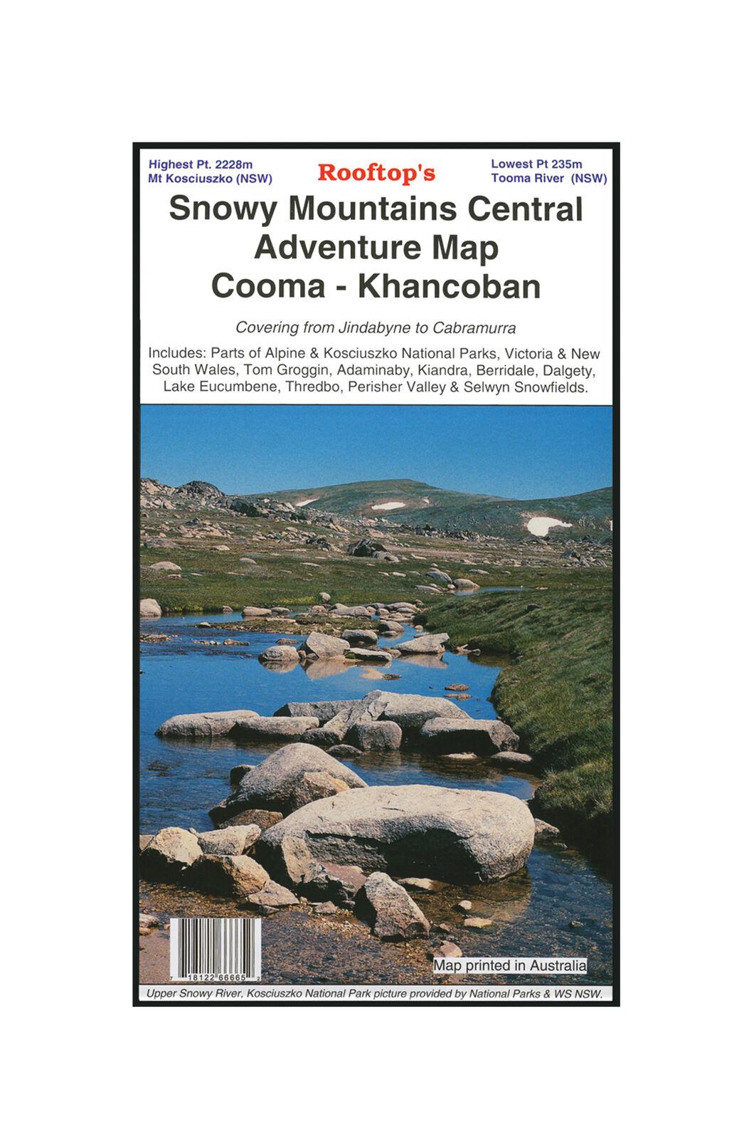 Hema Snowy Mountains Central Khancoban Map, None, hi-res