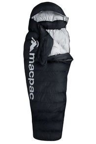 Macpac Overland Down 400 Sleeping Bag — Standard, Black, hi-res