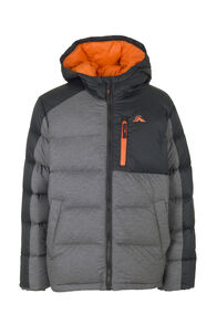 Macpac Asteroid Down Jacket - Kids', Black, hi-res