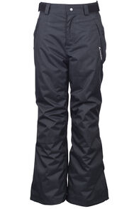 Macpac Powder Reflex™ Ski Pants — Kids', Black, hi-res