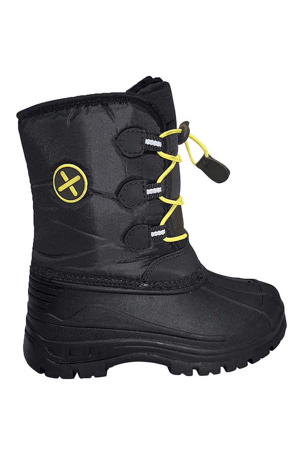 XTM Kids' Rocket Snow Boots, Black, hi-res
