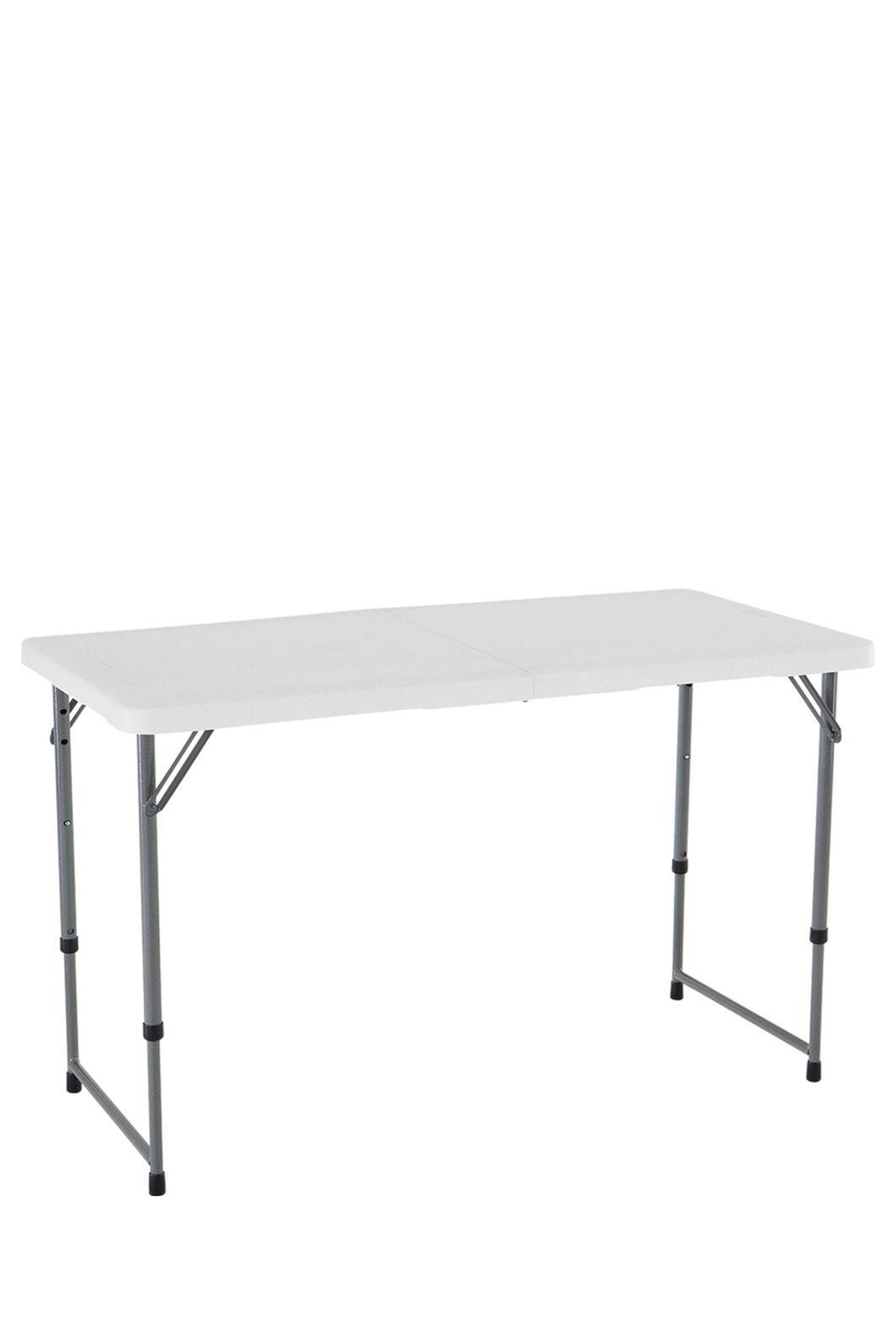 Lifetime Blow Mould Folding Table (121 cm), None, hi-res