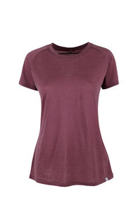 Macpac Meadow Merino Blend Tee - Women's, Wild Ginger, hi-res